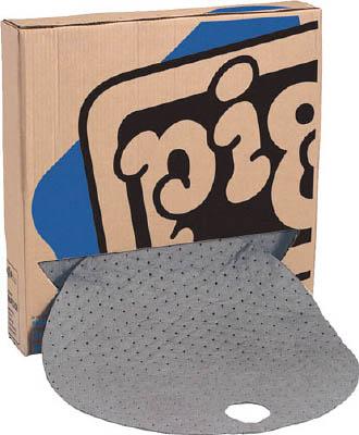 pig 210L用バレルトップピグマット (25枚/箱)【MAT208-109】(清掃用品・吸収材)
