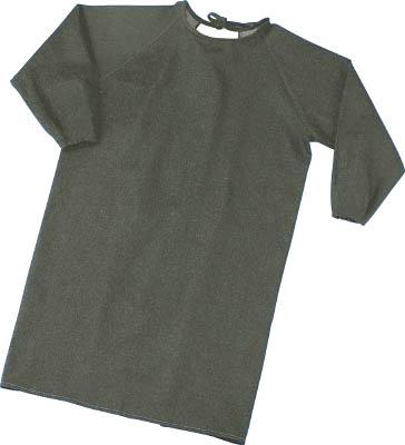 TRUSCO パイク溶接保護具 袖付前掛け Lサイズ【PYR-SMK-L】(溶接用品・溶接用保護具)【S1】
