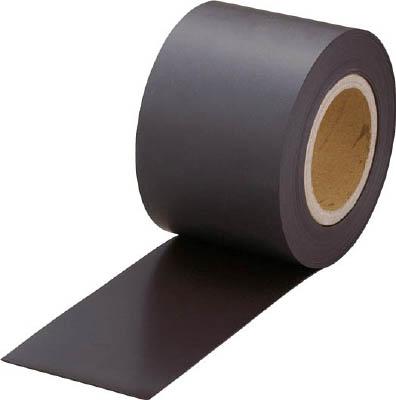 TRUSCO マグネットロール 糊なし t0.6mmX巾100mmX20m【TMG06-100-20】(マグネット用品・マグネット素材)