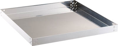 TRUSCO クリーンラビット用棚板 500X500【CRB-55T】(ツールワゴン・ステンレス製ワゴン)