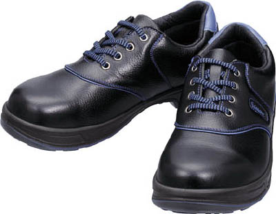 シモン 安全靴 短靴 SL11-BL黒/ブルー 27.5cm【SL11BL-27.5】(安全靴・作業靴・安全靴)