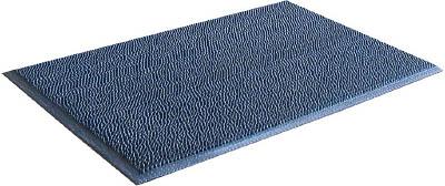 テラモト スーパーダスピット 灰 900×1500【MR1330465】(床材用品・マット)