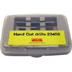 サンドビック ハードカットドリルセット 各1個入り【HC23456】(ねじ切り工具・タップ除去工具)