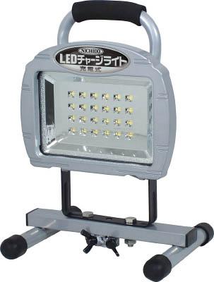 日動 LEDチャージライト 10W リチュウムイオンバッテリー使用【BAT-10W-L24PMS】(作業灯・照明用品・投光器)