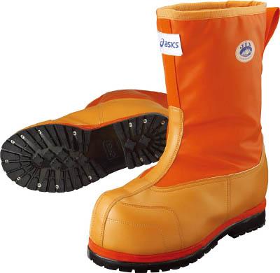 アシックス 作業用防寒靴 W-DX-II オレンジ 28.5cm【FPB001.09-28.5】(安全靴・作業靴・長靴)