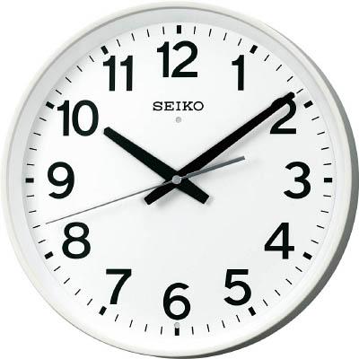 SEIKO 電波クロック【KX317W】(OA・事務用品・掛時計)