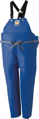 ロゴス マリンエクセル 胸当て付きズボン膝当て付きサスペンダー式 ブルー L【12063152】(保護具・作業服)【S1】