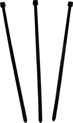 パンドウイット ナイロン結束バンド 耐熱耐候性黒【PLT2I-M300】(電設配線部品・ケーブルタイ)