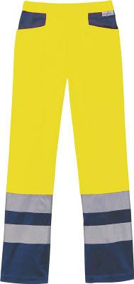 コーコス スラックスCE-471311イエロー L【CE-471311-L】(保護具・作業服)