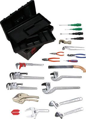 スーパー プロ用配管工具セット(スタンダードタイプ)【H4000S】(工具セット・手提げタイプ)