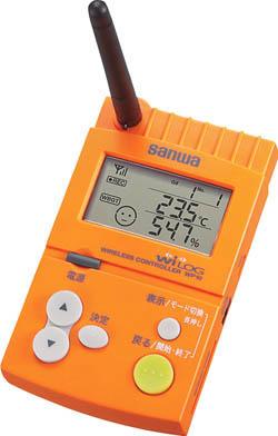 品質満点! ワイヤレス温湿度ロガースターターセット【WP10/S】(計測機器・温度計・湿度計):リコメン堂 SANWA-DIY・工具