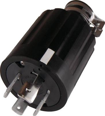 アメリカン電機 引掛形 ゴムプラグ 接地3P60A250V【4622R】(電設配線部品・プラグ・コンセント)