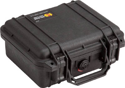 PELICAN 1200 黒 270×246×124【1200BK】(工具箱・ツールバッグ・プロテクターツールケース)