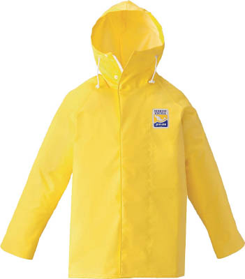 ロゴス マリンエクセル パーカー イエロー 3L【12030520】(保護具・作業服)