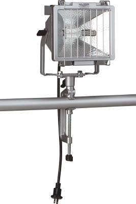 ハタヤ 防雨型ハロゲンライト 500W 100V電線0.6m バイス付【PH-500N】(作業灯・照明用品・投光器)
