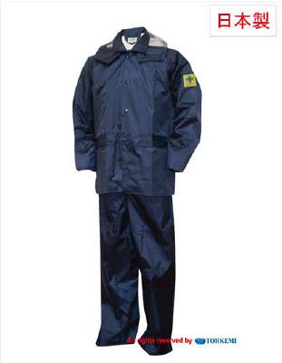 トオケミ トオケミ チャージアウトコート ネイビー 3L【49000-3L】(保護具・雨具)