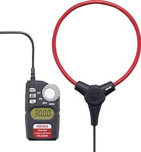 SANWA AC専用フレキシブルクランプメ-タ【DCL3000R】(計測機器・クランプメーター)