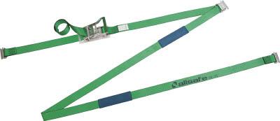 allsafe ベルト荷締機 リターン式T-ワンピース付きラッシングベルト【R5TP1R】