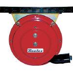 Reelex 自動巻アースリール吊下げ取付タイプ50Aアースクリップ付【ER-415C】(コードリール・延長コード・電源リール)
