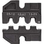 KNIPEX 9749-05 圧着ダイス (9743-200用)【2866911】(電設工具・圧着工具)