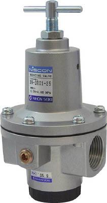 日本精器 レギュレータ 15A 中圧用【BN-3R01H1-15】(空圧・油圧機器・エアユニット)【送料無料】