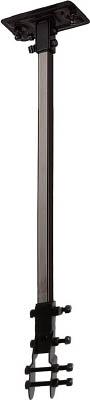 "TRUSCO 45CM全閉式工場扇""ゼフィール""ハンガーアングル(ブラック)【TFZP-H-BK】(冷暖対策用品・工場扇)【S1】"