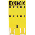 パンドウイット ロックアウトステーション 10人用【PSL-10SA】(建築金物・工場用間仕切り・鍵)