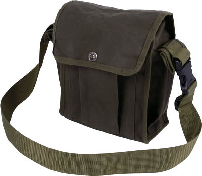 TRUSCO 帆布ショルダーバッグ OD【THSB-OD】(工具箱・ツールバッグ・ツールホルダ・バッグ)
