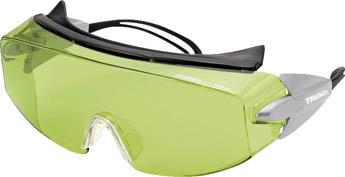 TRUSCO レーザー用保護メガネ YAG用【TLSG-YG】(保護具・レーザー用保護メガネ)