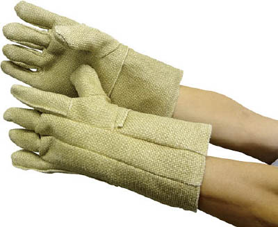 ZETEX ゼテックスプラスダブルパーム手袋35cm【20112-1401-ZP】(作業手袋・耐熱・耐寒手袋)