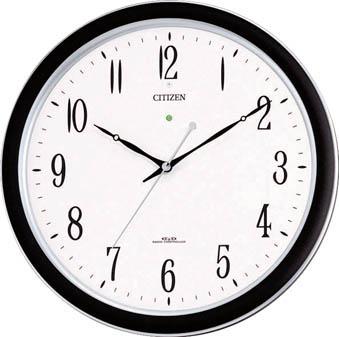 シチズン ネムリーナM691F(電波掛時計)プラスチック枠シルバーメタリック【4MY691-N19】(OA・事務用品・掛時計)