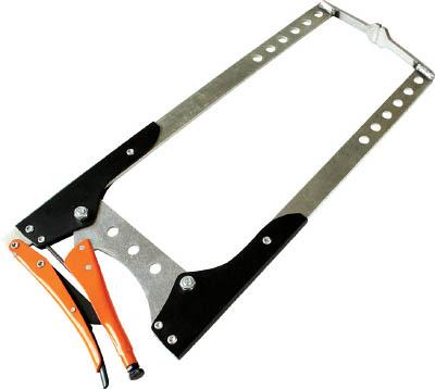 GRIP-ON アルミG型グリッププライヤー 785mm【144-32】(クランプ・バイス・グリッププライヤー)