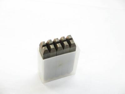 TRUSCO 逆数字刻印セット 2.5mm【SKB-25】(ハンマー・刻印・ポンチ・刻印)