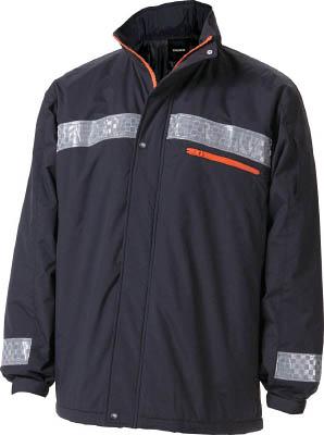 TRUSCO 暖かブルゾン Lサイズ ブラック【TATBB-L-BK】(冷暖対策用品・寒さ対策用品)
