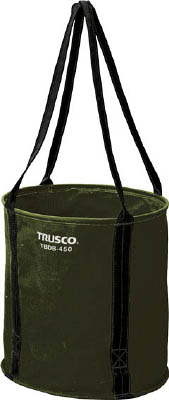 TRUSCO 大型電工用バケツ OD Φ400X400【TBDB-400-OD】(工具箱・ツールバッグ・ツールホルダ・バッグ)