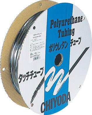 チヨダ TEタッチチューブ 8mm/100mオレンジ【TE-8-100 OR】(流体継手・チューブ・エアチューブ・ホース)