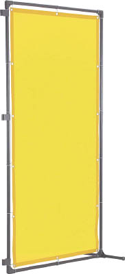 TRUSCO 溶接遮光フェンス 1515型接続 固定足 深緑【YF1515SK-DG】(溶接用品・溶接遮光フェンス)