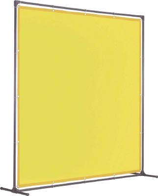 TRUSCO 溶接遮光フェンス 2015型単体 固定足 青【YF2015K-B】(溶接用品・溶接遮光フェンス)【S1】