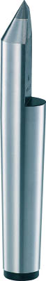 TRUSCO 超硬付ハーフセンター MT4 1.0mm【THSP-4-1410】(ツーリング・治工具・チャック・生爪)