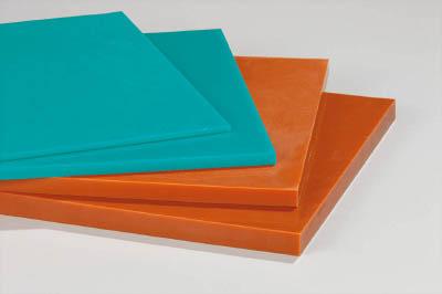 イノアック ログラン(硬質ウレタンゴム)シートt10×300×300 ブラウン【A10300】(機械部品・ゴム素材)