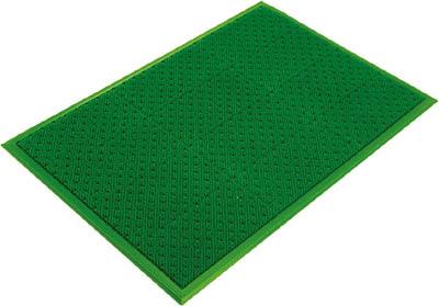 ミヅシマ エルバーマット グリーン 660X960mm【402-0410】(床材用品・マット)