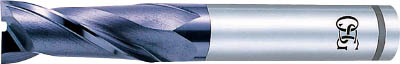 OSG ハイスエンドミル【V-XPM-EDN-16】(旋削・フライス加工工具・ハイススクエアエンドミル)