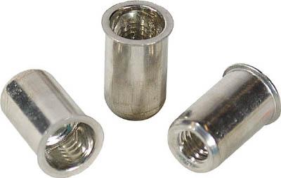 エビ ナット(1000本入) Kタイプ アルミニウム 4-2.0【NAK4M】(ファスニングツール・ブラインドナット)