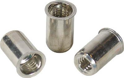 エビ ナット(1000本入) Kタイプ アルミニウム 6-3.2【NAK6M】(ファスニングツール・ブラインドナット)
