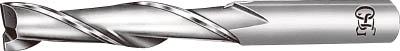 OSG ハイスエンドミル 2刃ロング 27【EDL-27】(旋削・フライス加工工具・ハイススクエアエンドミル)【送料無料】