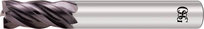 OSG 超硬EM NEO 4刃ショート NEO-PHS Φ12【NEO-PHS-12】(旋削・フライス加工工具・超硬スクエアエンドミル)