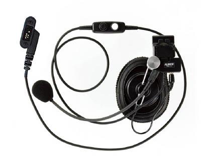 アルインコ ヘルメット用ヘッドセット(スプリングプラグ)【EME40A】(安全用品・標識・トランシーバー)