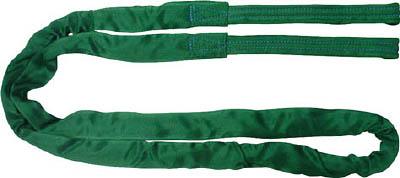 TESAC ブルースリングソフトE形(両端アイタイプ)【TBSE2.0TX3M】(吊りクランプ・スリング・荷締機・ラウンドスリング)