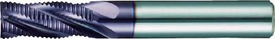 グーリング グーリングラフィングエンドミル(4枚刃)【3723 012.000】(旋削・フライス加工工具・超硬ラフィングエンドミル)