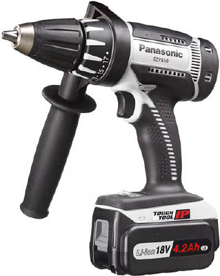 最上の品質な Panasonic LSタイプ【EZ7450LS2S-H】():リコメン堂 充電ドリルドライバ リチウムイオン18V-DIY・工具